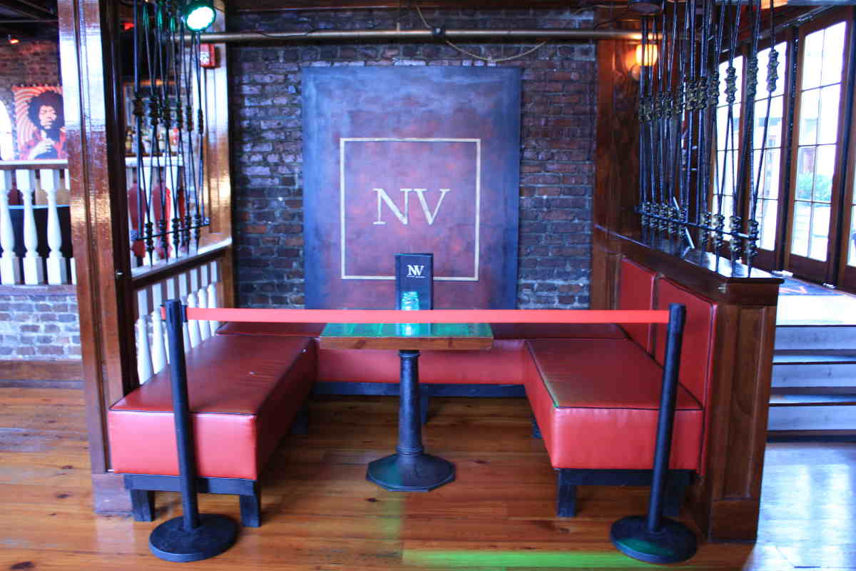 Photo of the Henry's Music Hall Private Table Options